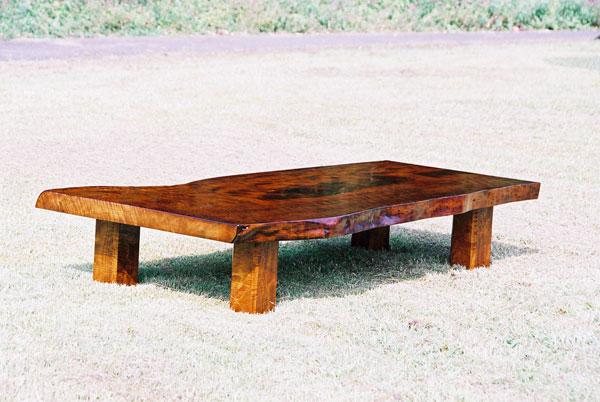 天然木の座卓